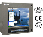 4823AB | NEMA 4X Industrial computer with touch screen